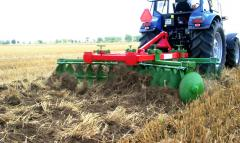 Hinged / hook-on disk harrow of CUT XL
