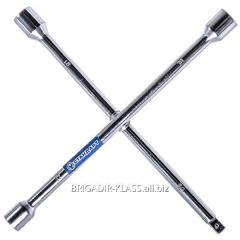Ключ баллонный крестовой 17x19x21x1/2 Стандарт ,Модель  KBK1