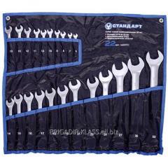 Набор ключей комбинированных 25 ед. (6-28,30,32) в сумке Стандарт ,Модель  NKK25ST-S