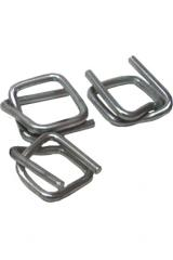 Buckle for wire cord tapes 16 mm