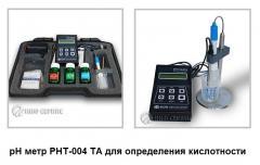 РН метр PHT-004 TA для определения кислотности молока