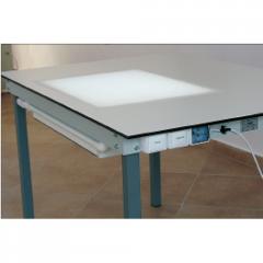 Стол с подсветкой и всасыванием NSP 1