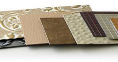 Декоративный пластик для мебели и дизайна