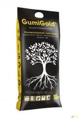 GumiGold®10公斤; 钾腐殖酸盐,腐殖酸; 生长刺激; 水溶性肥料。