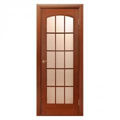 Дверь межкомнатная Капри (витраж)
