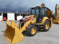Excavator CAT 432F2 loader 2016