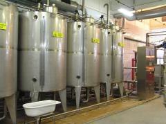 СIP-станция для молока