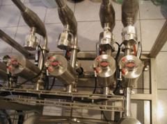 Установка для дозирование ингредиентов в водку и ликероводочные изделия