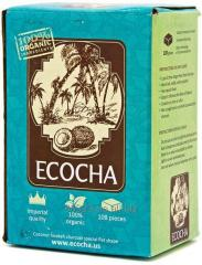 He unique coconut coal for Ecocha hookah produced