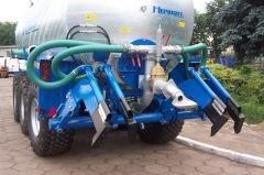 Adapters for introduction of liquid fertilizers