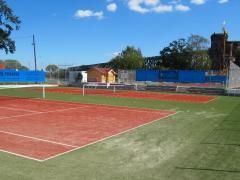 Искусственная трава для тенниса. Трава для тенниса