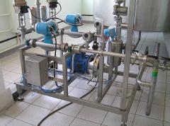 Автоматическая смесительная установка