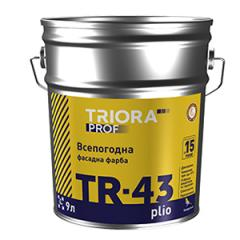 All-weather exterior paint plio TM TRIORA prof