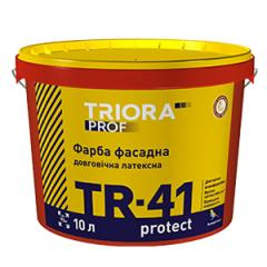 Durable exterior latex paint TR-41 protect TM