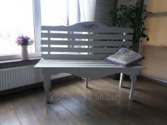 Bench from the massif in style Provence