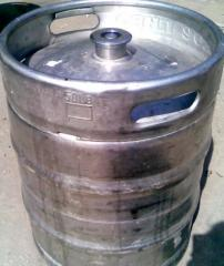 Keg of 50 l of DYNES a stainless steel expensively