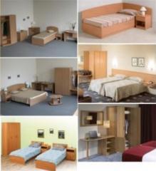 Furniture for hotels, hotels, sanatoria