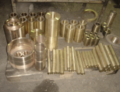 Cartridges, casting, molding Bronze BrA9Zh4L,