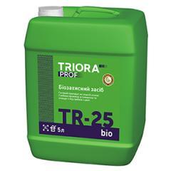 Biosuojaavilla tarkoittaa TR-25 bio TM...