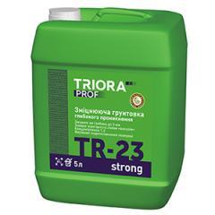 Укрепляющая грунтовка глубокого проникновения TR-23 strong TM TRIORA prof арт.3623