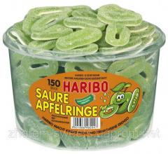 Apple rings in Haribo's sugar