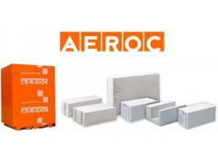 Gas-concrete AEROC blocks