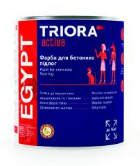 Краска для бетонных полов EGYPT ТМ TRIORA...