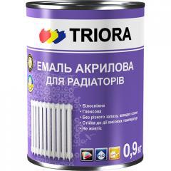 Эмаль акриловая для радиаторов TM TRIORA 0,9 кг
