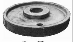 Центр колесный из стали