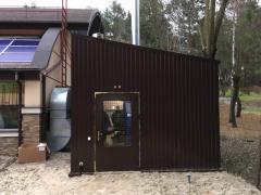 Modular boiler Idmar 50 kW to 5 Mw