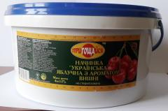 Начинка c  ароматами вишни, абрикоса, малины по 4 кг. ведро