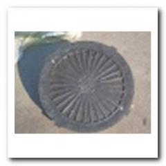 Крышка люка канализационного полиэтиленовая