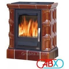 Печь кафельная ABX Iberia L (кафельный цоколь)