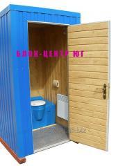 Кабина туалетная повешенного комфорта зима-лето