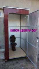 Кабина  туалетная дачная для выгребных ям