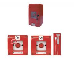 Posts of the fire alarm system, manual fire announcers. SPAMEL, Poland. The best prices