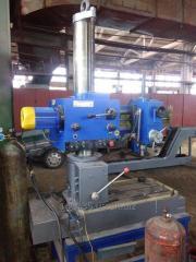 Machine radial-drilling 2K52