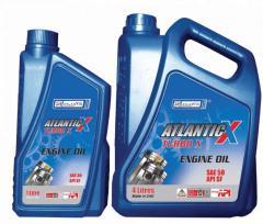 Масло моторное для мощных дизельных двигателей Atlantic X Turbo Plus 15W-40 20л