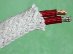 Теплоизоляционный и высокотемпературный рукав IZOPLET- 120 (ф 25 мм)