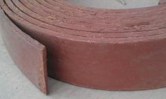 Tape brake EM-2, EM-K 6-10h70-160 of GOST 15960-79