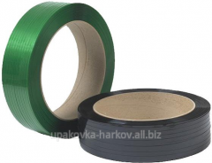Tape polyester (PET) 15*0,7 (15 mm, 1.8 km / bean)