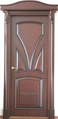 Двери из массива дерева (сосна, ольха, ясень, дуб)
