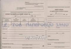 Приходный кассовый ордер, А5, 100 листов КО-1