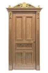 Двери Элит из массива дерева (сосна, ольха, ясень,