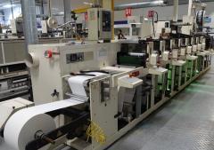 Nilpeter FB3300 8 color UV Flexo Machine