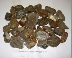 High quality unpolished natural amber from Ukraine