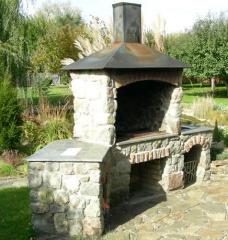 Barbecue fireplaces