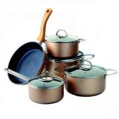 Набор посуды металлической с антипригарным