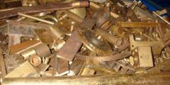 Scrap, waste of bronze we realize