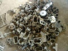 Scrap, waste of zinc alloys (TsA, TsAM) we realize